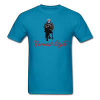 Bernie Mittens Vermont Style T-Shirt - turquoise