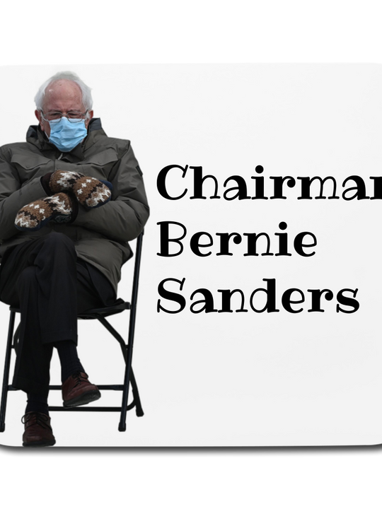 Bernie Mittens CUSOMIZABLE Mouse pad Horizontal
