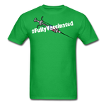 Fully Vaccinated Syringe Unisex Classic T-Shirt - bright green