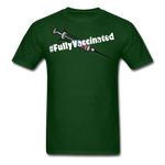Fully Vaccinated Syringe Unisex Classic T-Shirt - forest green