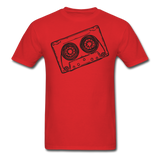 Cassette Tape Unisex Classic T-Shirt - red