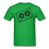 Cassette Tape Unisex Classic T-Shirt - bright green