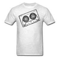 Cassette Tape Unisex Classic T-Shirt - light heather gray