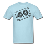 Cassette Tape Unisex Classic T-Shirt - powder blue
