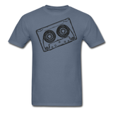Cassette Tape Unisex Classic T-Shirt - denim