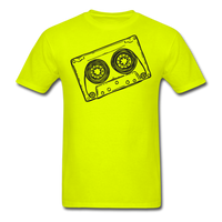 Cassette Tape Unisex Classic T-Shirt - safety green