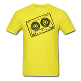 Cassette Tape Unisex Classic T-Shirt - yellow