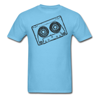 Cassette Tape Unisex Classic T-Shirt - aquatic blue