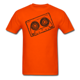Cassette Tape Unisex Classic T-Shirt - orange