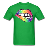 Mouth Unisex Classic T-Shirt - bright green
