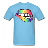 Mouth Unisex Classic T-Shirt - aquatic blue