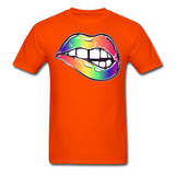 Mouth Unisex Classic T-Shirt - orange