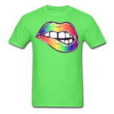 Mouth Unisex Classic T-Shirt - kiwi