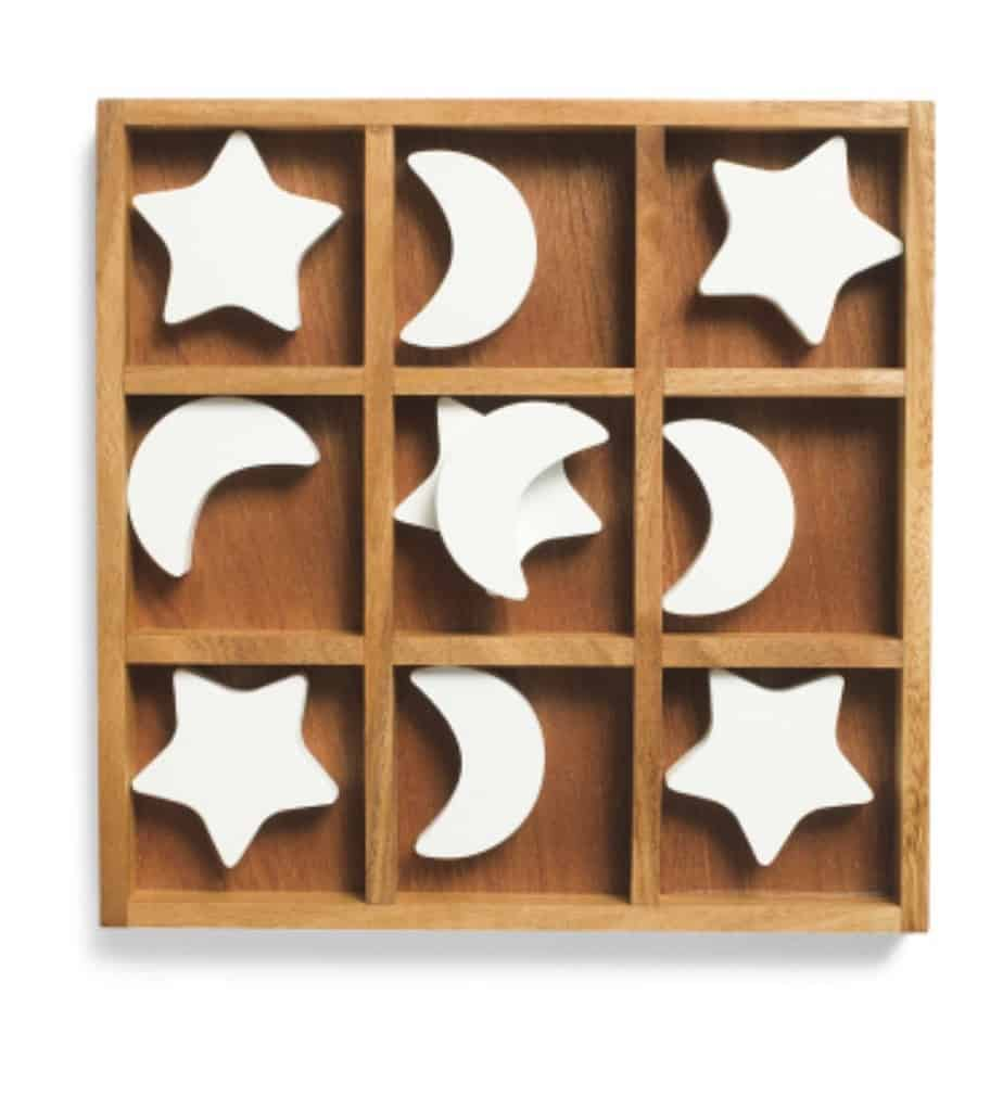 Star & Moon Tic Tac Toe