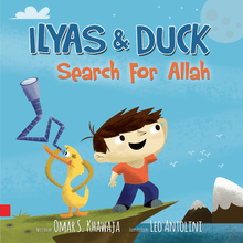 Load image into Gallery viewer, Ilyas and duck - Search for Allah
