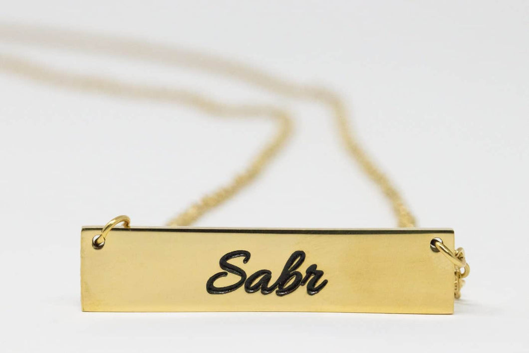 SABR Necklace