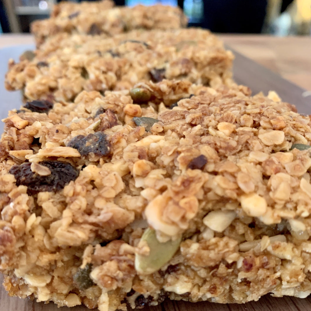 Fruit & nut flapjacks