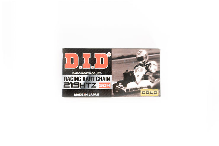 DID 219 Gold Racing Chain