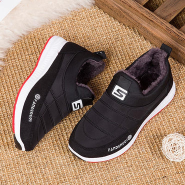 Casual Winter Warm Comfortable Slip Sneakers