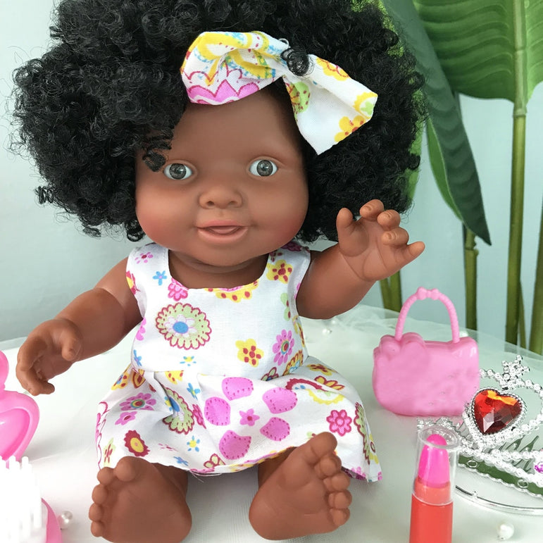 African Doll Movable Joint Toy Christmas