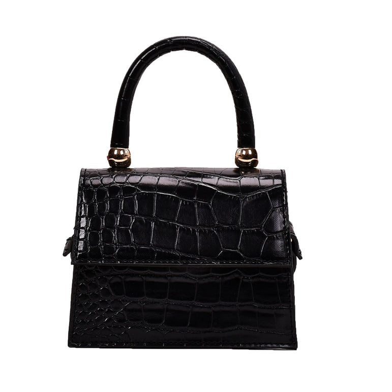 Alligator Pattern Bags PU Leather Flap Shoulder Messenger