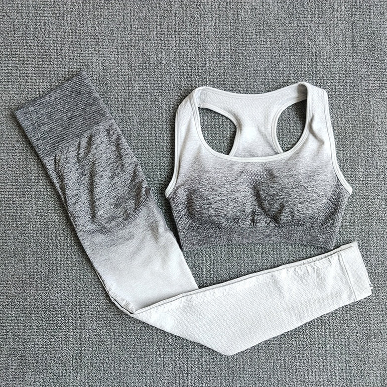 Seamless Yoga Set Sport Wear Women Gym Workout