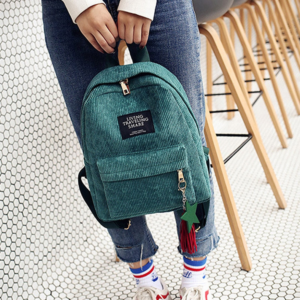 Fashion Backpack Style Soft Travel