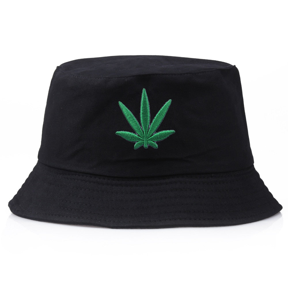 Maple Leaf Bucket Hat Hip Hop Fisherman Panama Hats