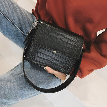 Fashion Vintage Crocodile Crossbody Bags