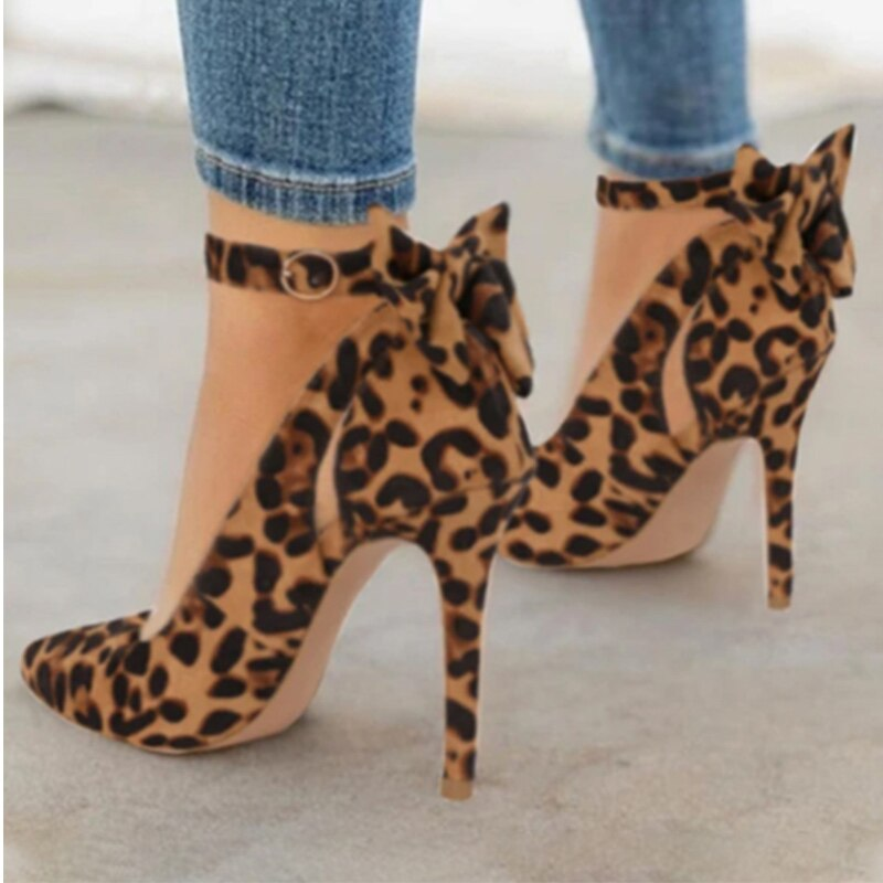 Cute Women High Heels Pointed Toe Pumps
