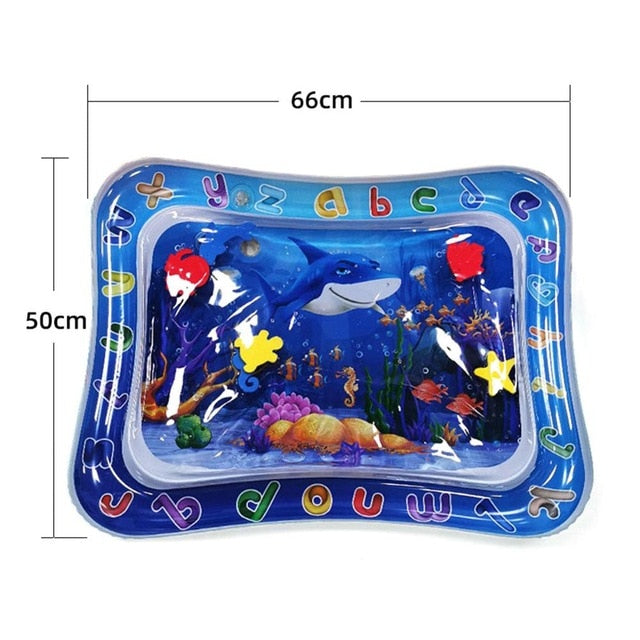 Baby Kids Water Play Mat Activity inflatable