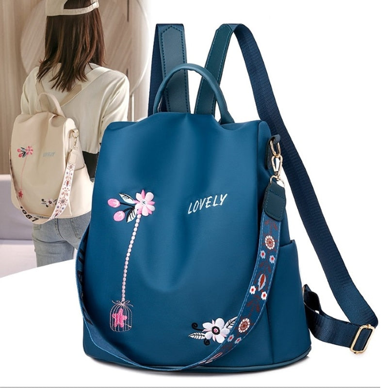High Quality Oxford Women Backpack