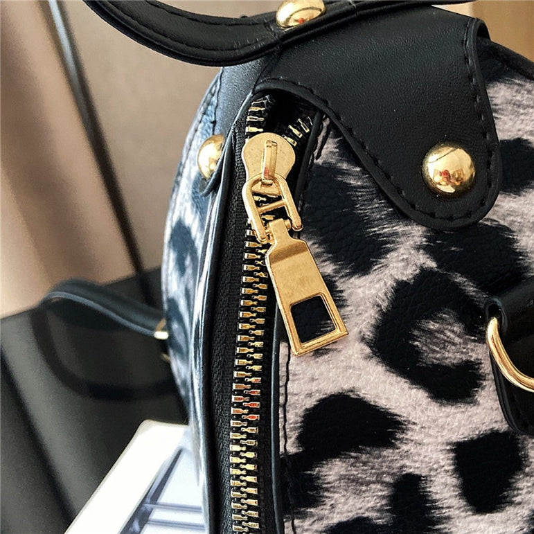 Luxury Handbags Messenger Bags Leopard Print Women' s