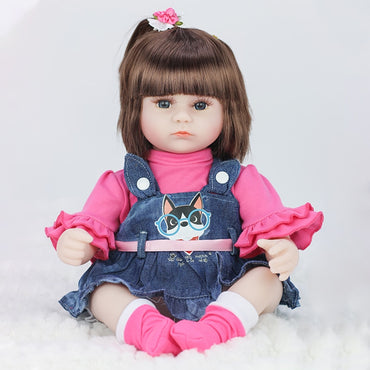 Baby Reborn Dolls Vinyl Toys For Girls Realistic