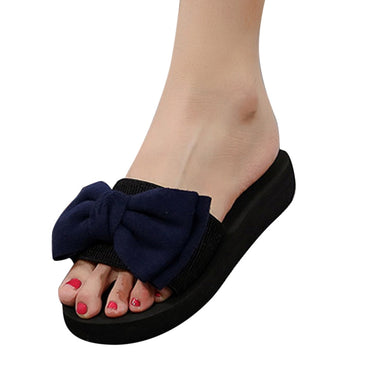 Bow Slipper Indoor Outdoor Flip-flops