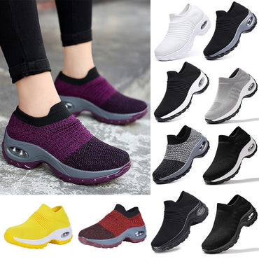 Cute Platform Shoes Casual Shoes Lace Up Breathable