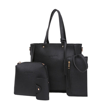 Woman Bag Set Fashion Female Purse And Handbag Ladies Four-piece Shoulder Bag