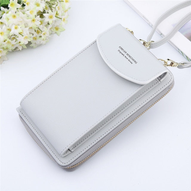 Women Wallet Pu Leather Shoulder Straps Shoulder Bag