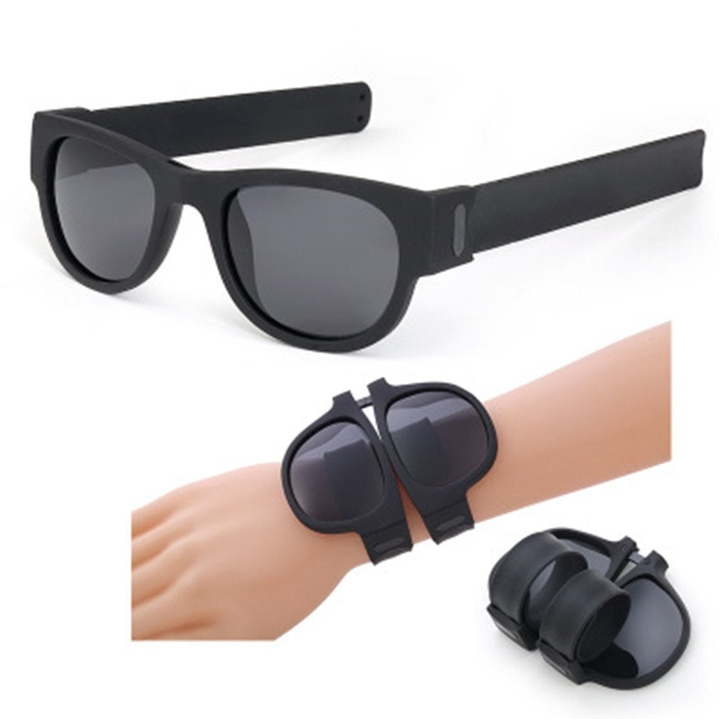 Polarized Wrist Sunglasses Folding for Women