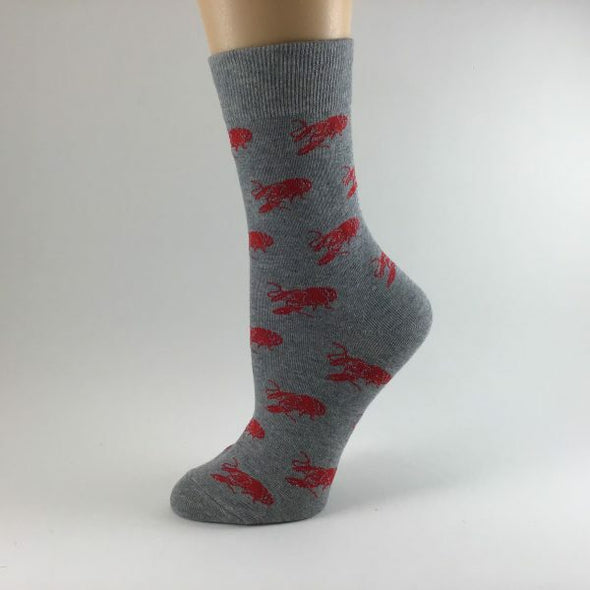 Crawfish Nola Themed Socks