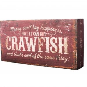 Crawfish Box Sign