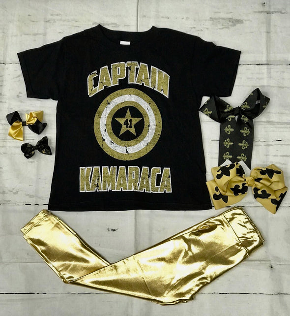 Captain Kamaraca Kids Tee