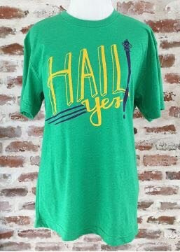 Hail Yes Green Unisex Crew Tee