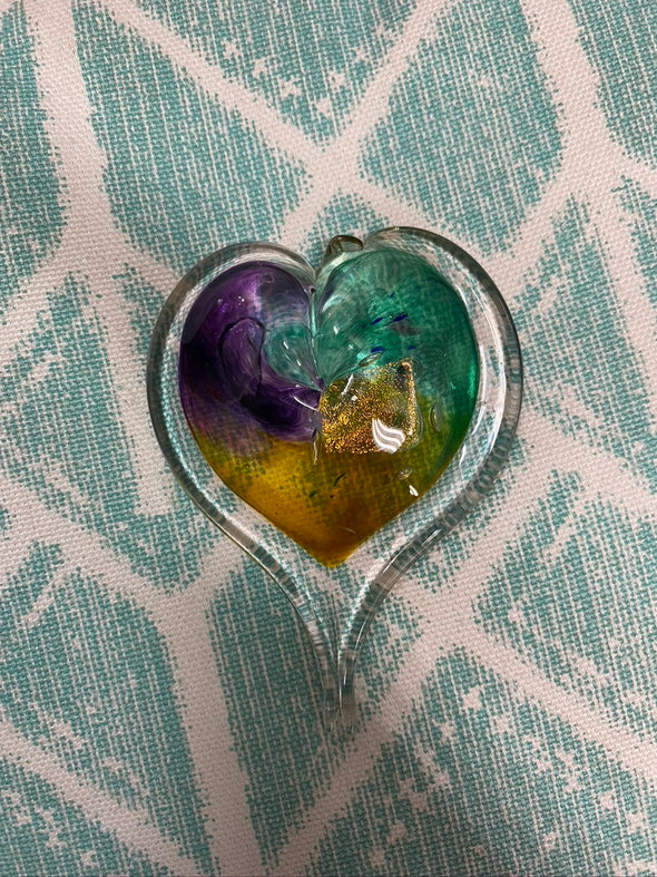 Glassblown Hearts