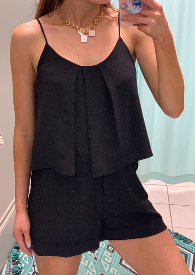 Little Black Romper