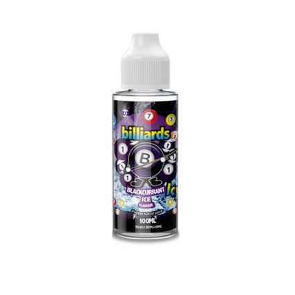 Billiards Icy 0mg 100ml Shortfill (70VG/30PG)