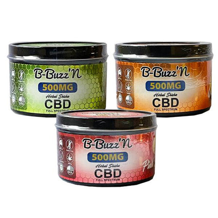 B-Buzz'N Herbal Full Spectrum CBD Herbal Shisha 500mg CBD
