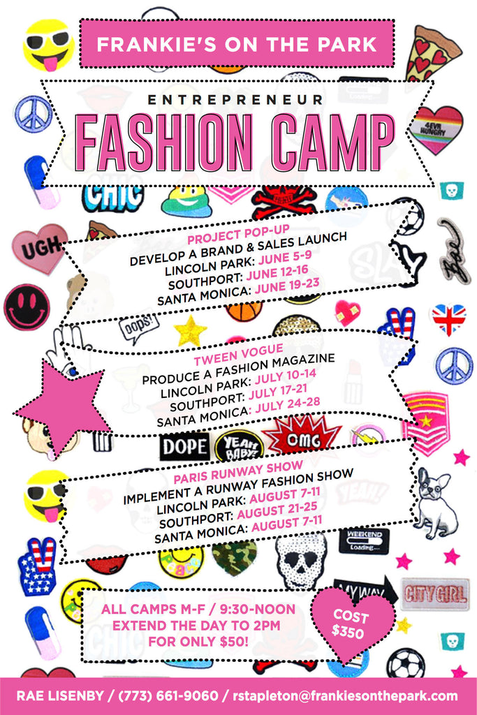 Frankie's Fashion Camp