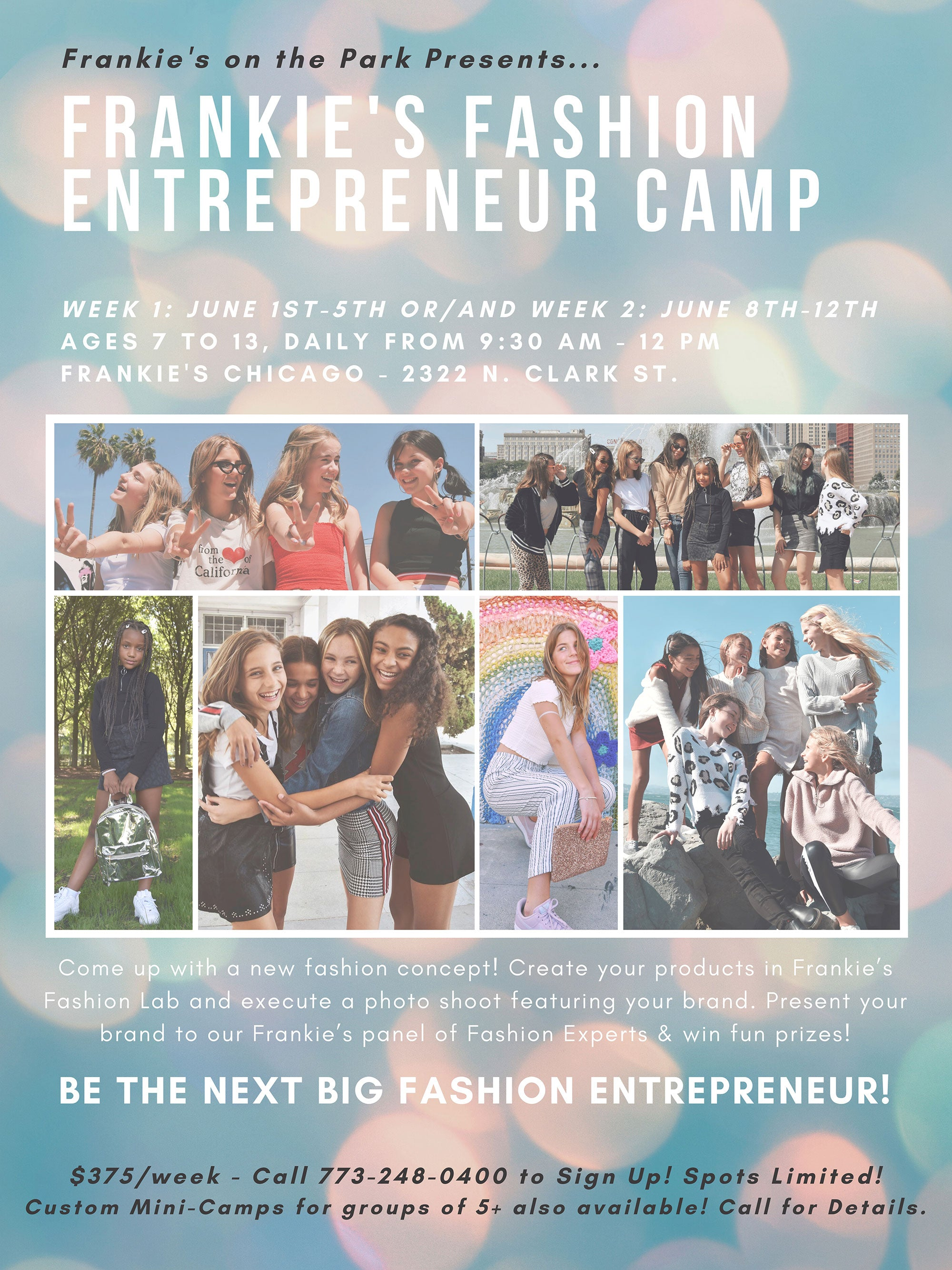 Frankie's Fashion Camp 2020