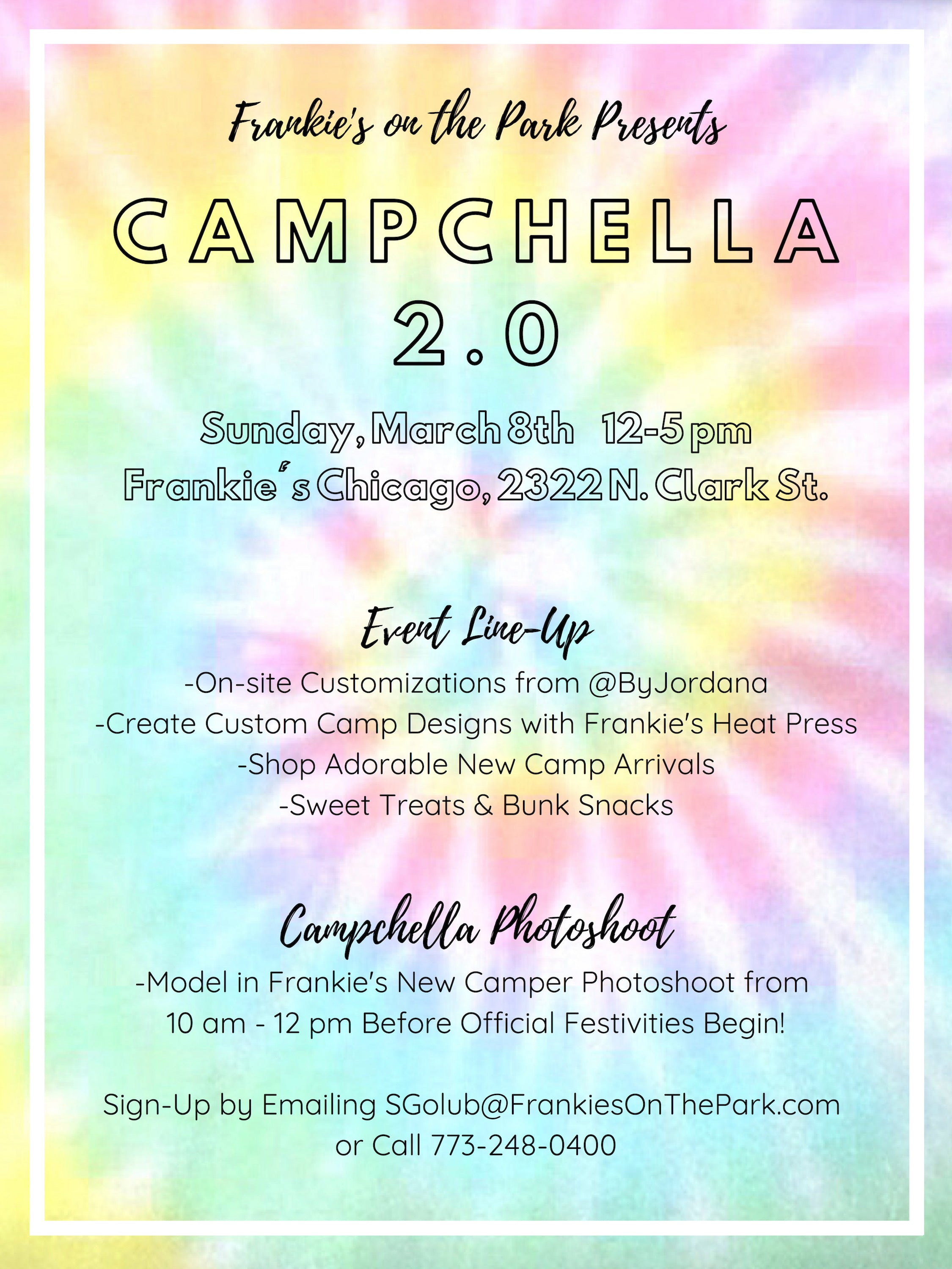 CAMPCHELLA x Frankie's on the Park Chicago
